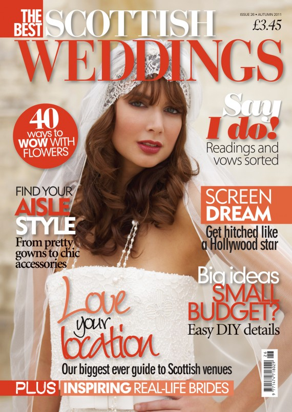 The Best Scottish Weddings cover