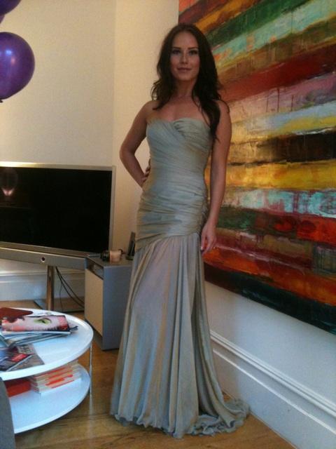 Katya Virshilas wearing Anoushka