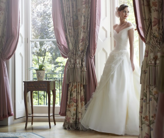 Daisy Stephanie Allin Couture London Designer wedding dress